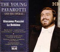 Cover The Young Pavarotti - Giacomo Puccini: La bohème [2CD]